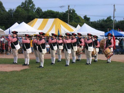 Adamsville Ancients at the Westbrook Muster (Photo by Wayne Hickman)